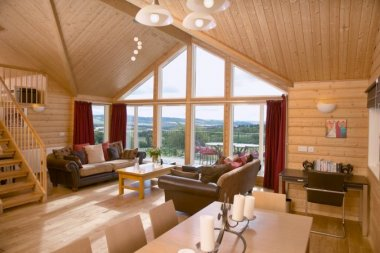 Airhouses Luxury Lodges, near Edinburgh