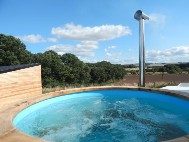Eden Holiday Hideaways with wood fired hot tubs, near Kelso