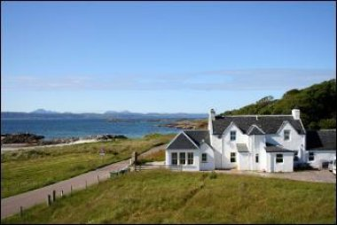 Traigh Cottage next to beach from 6th-13th October