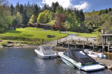 Enjoy being surrounded by mountains, lochs and rivers with lots to see and do
