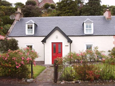 Fuchsia Cottage- Fortrose Harbour